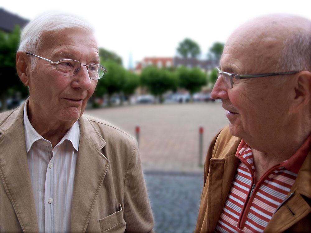 Heinz Hess und Dieter Kurrat. © Horst Martens